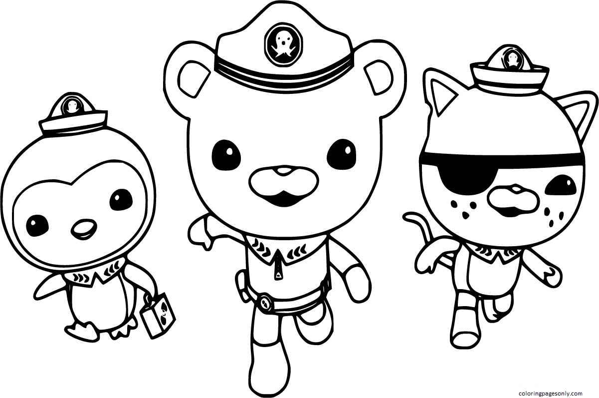 Octonauts Coloring Page