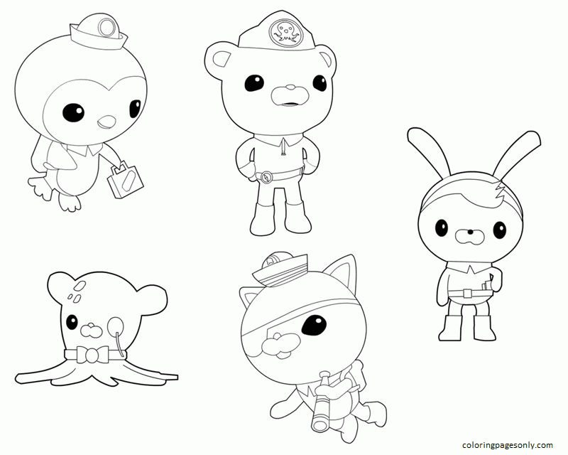 Octonauts Image 1 Coloring Page