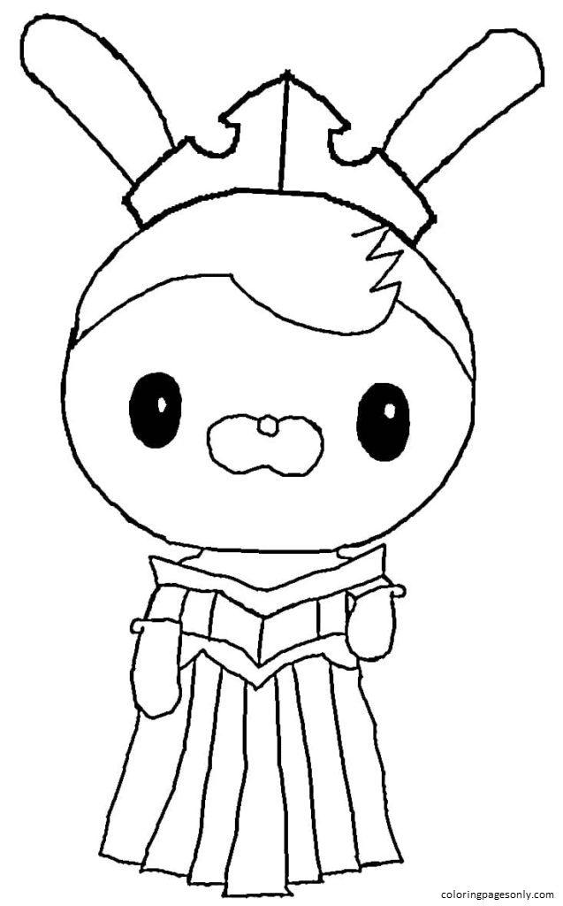 Princess Tweak Coloring Page
