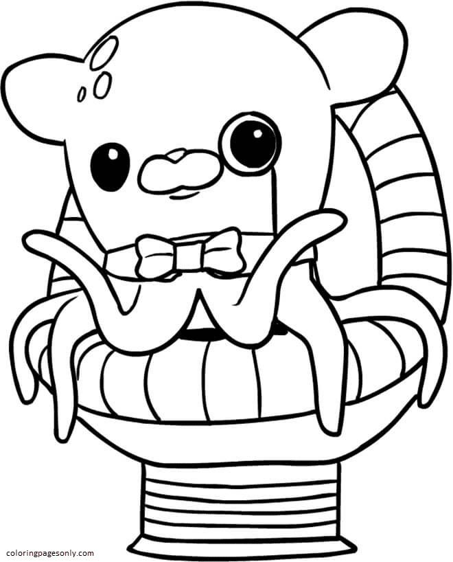 Professor Inkling Octonauts Coloring Page
