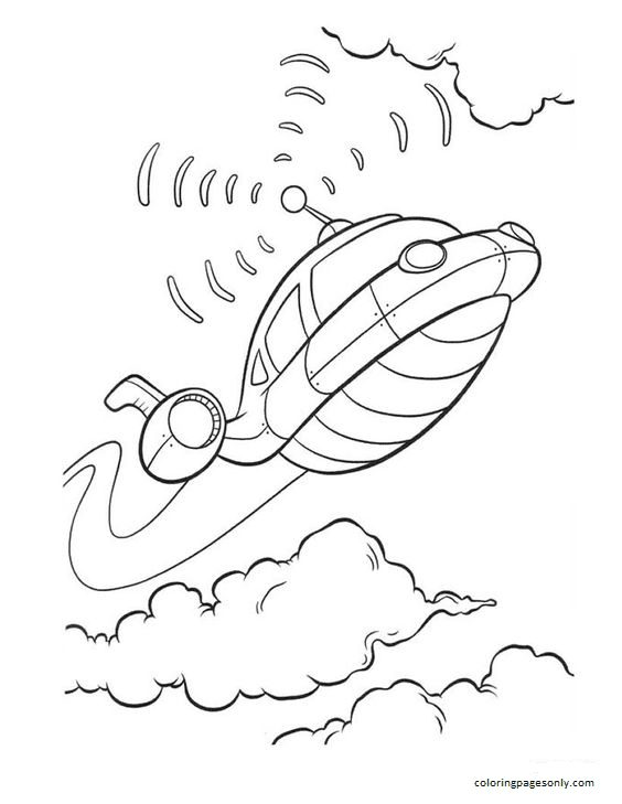 Rocket Little Einsteins Coloring Page