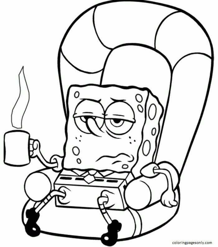 Spongebob 3 Coloring Page