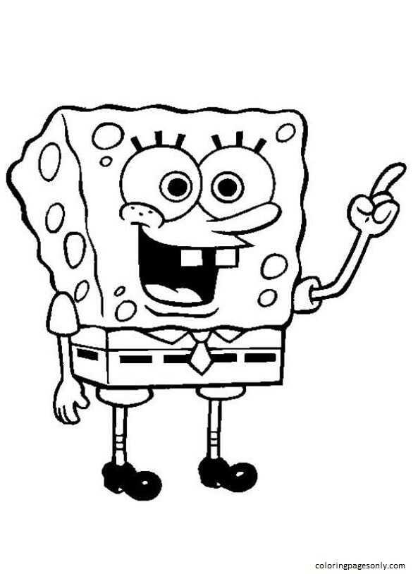 Spongebob 7 Coloring Page
