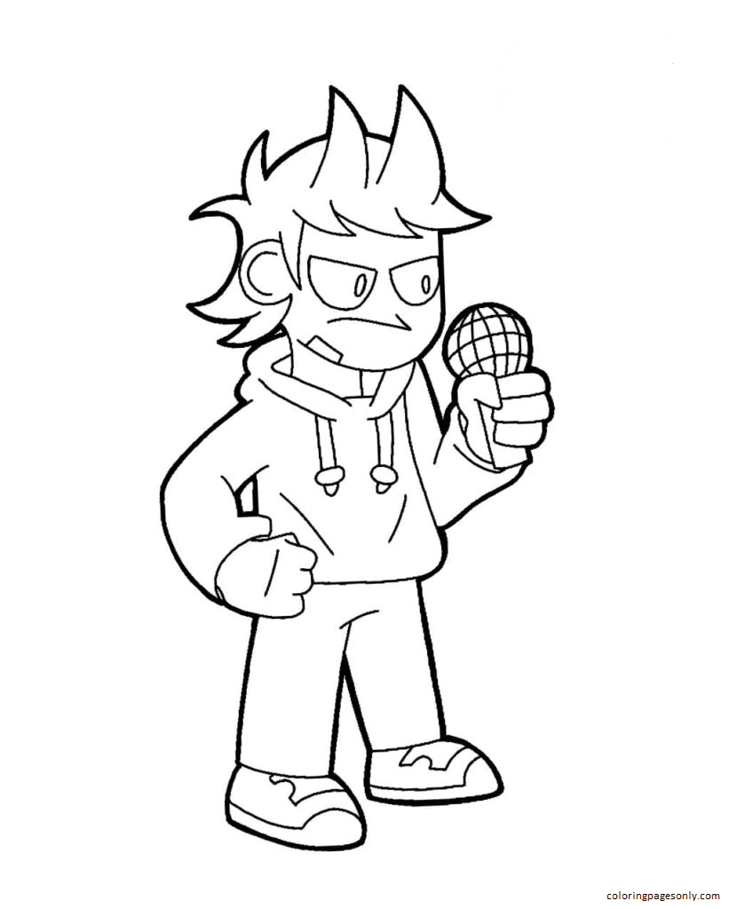Tord Coloring Page