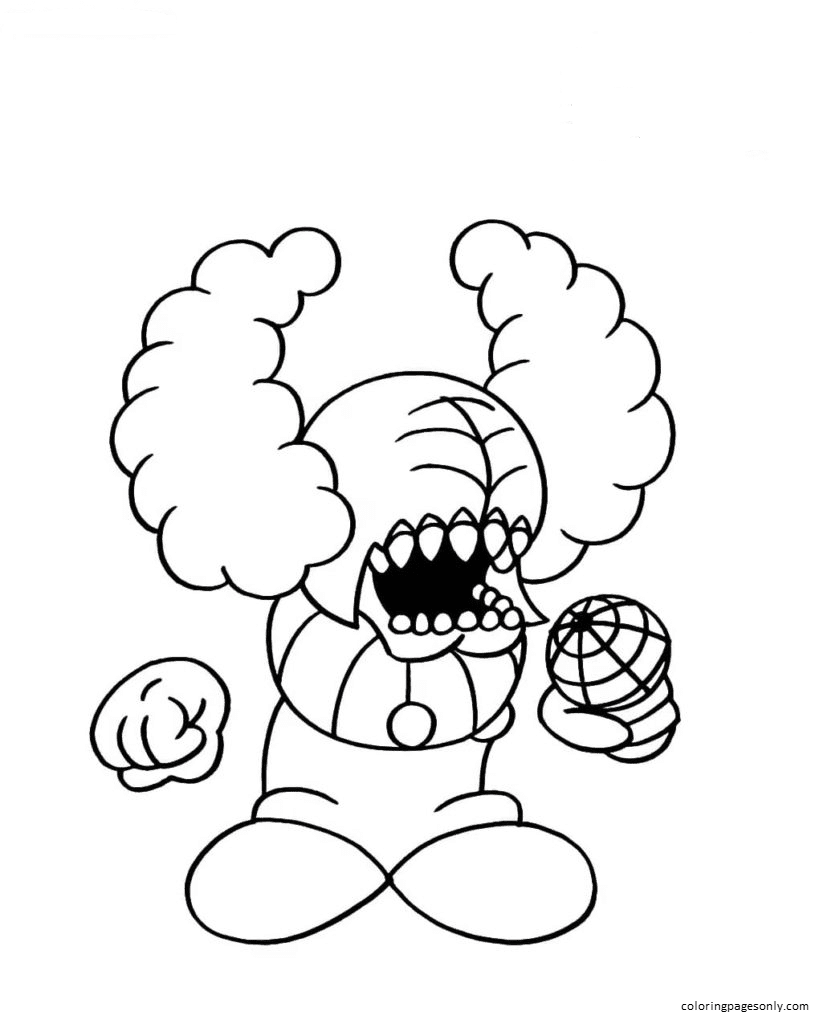 Tricky Coloring Page