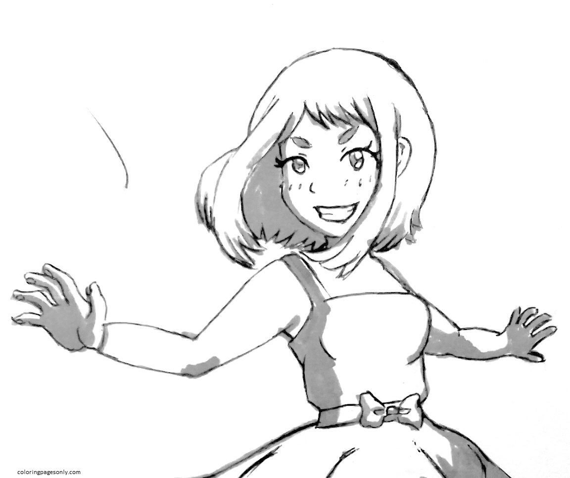Uravity Coloring Page