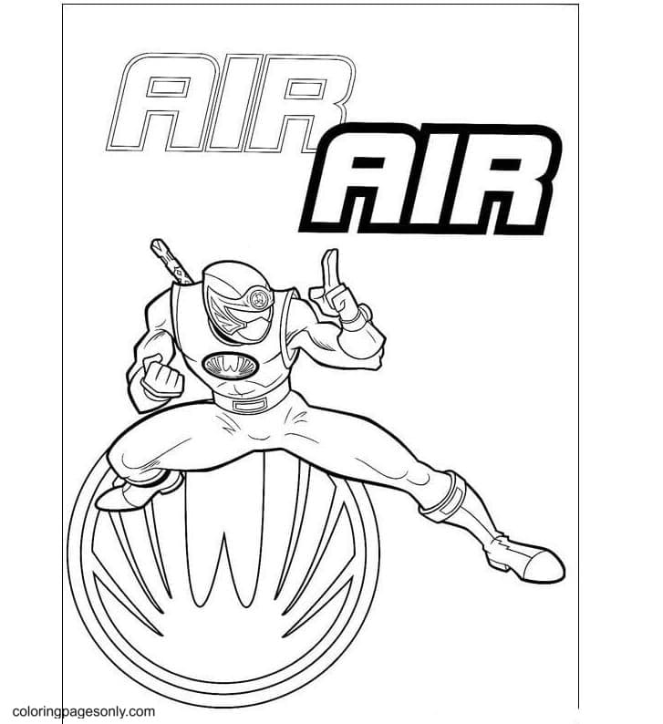Air force Coloring Page