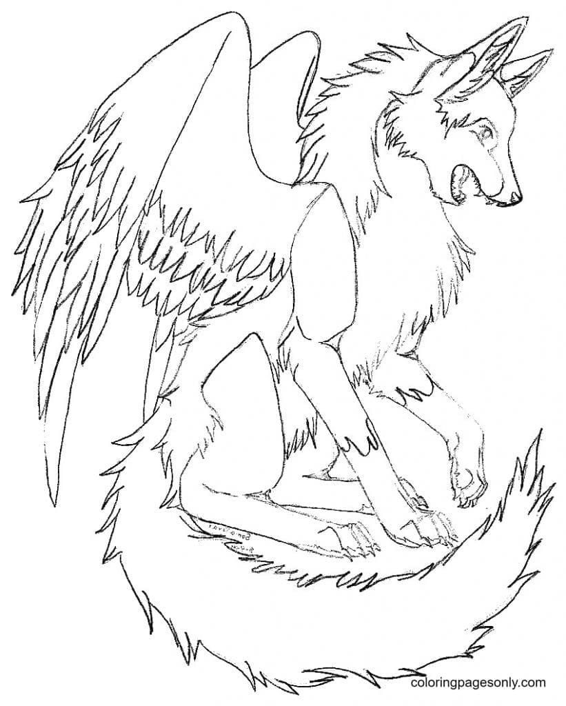 Animal Jam Arctic Wolves Coloring Page