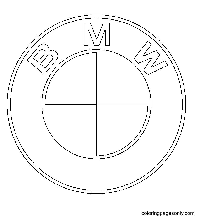 BMW Logo Coloring Page