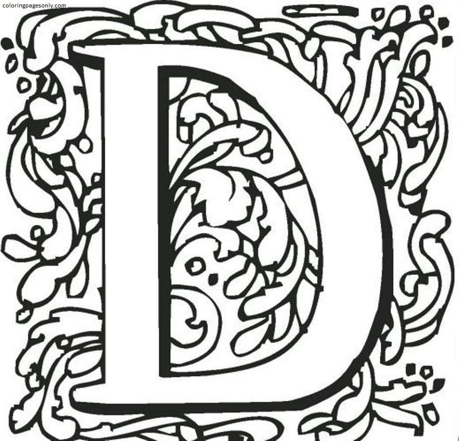 D-Teenages Coloring Page