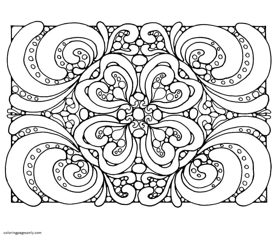 Flourish Coloring Page