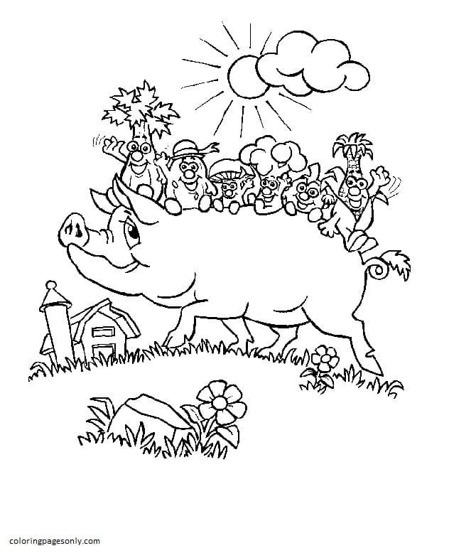 Free Farm Animal 7 Coloring Page