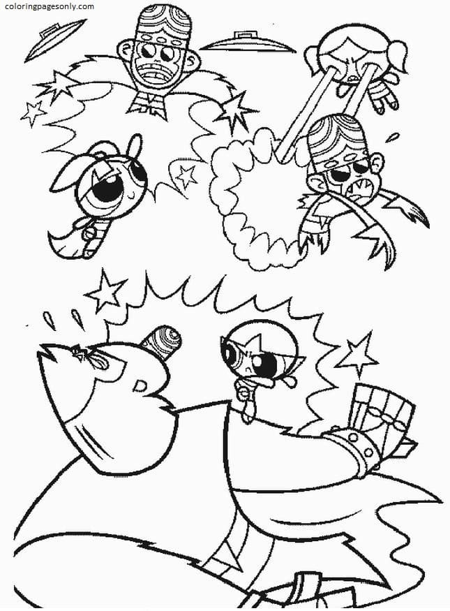 Free Powerpuff Girls 1 Coloring Page