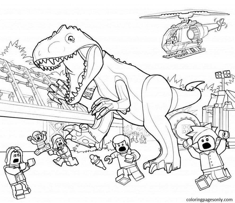 Free Print Dinosaur Picture Coloring Page