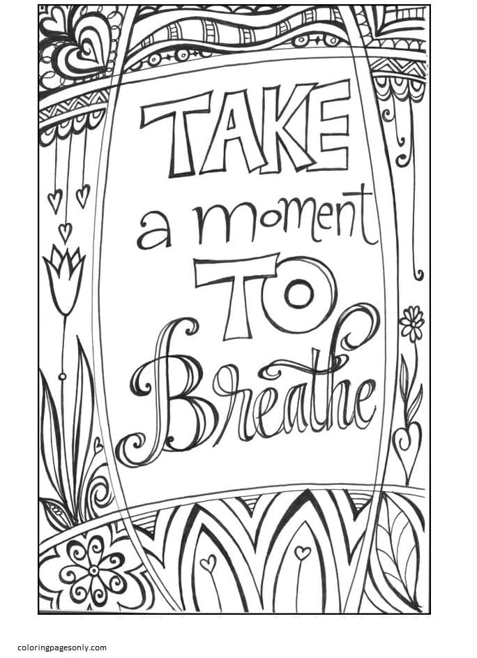 Free Printable Teenages 8 Coloring Page