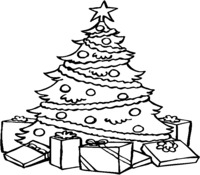 Holidays Coloring Page