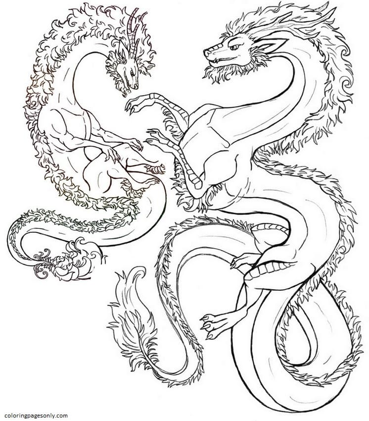 Hydra 7 Coloring Page