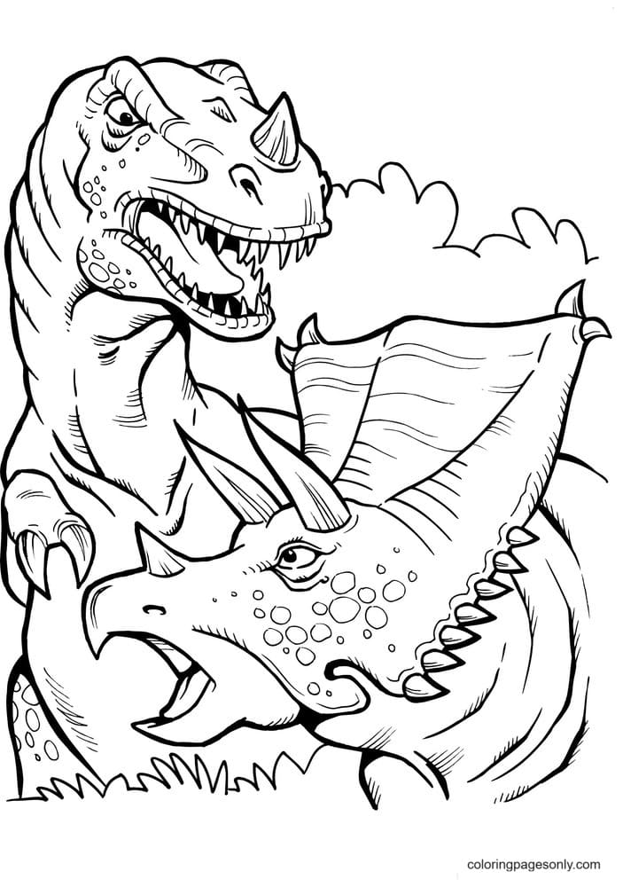 Indominus Rex Pictures Coloring Page
