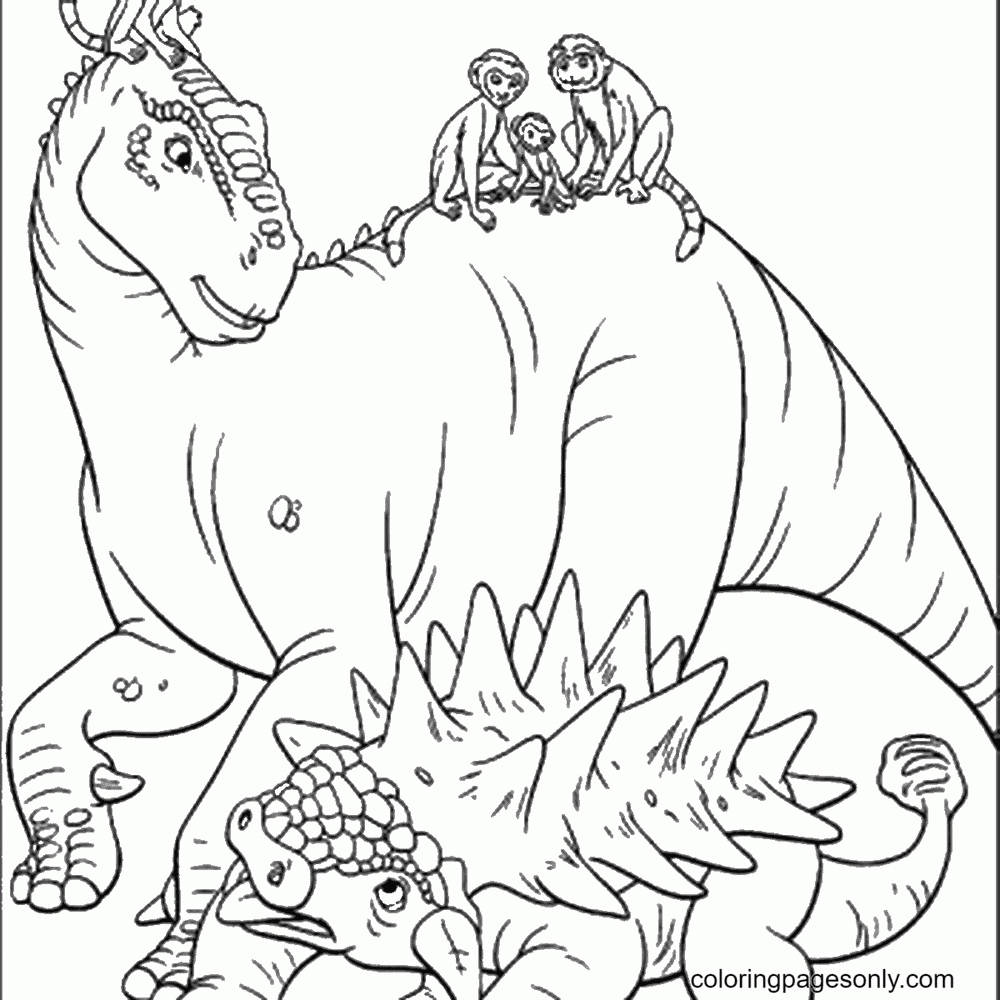 Jurassic World Printable Coloring Page