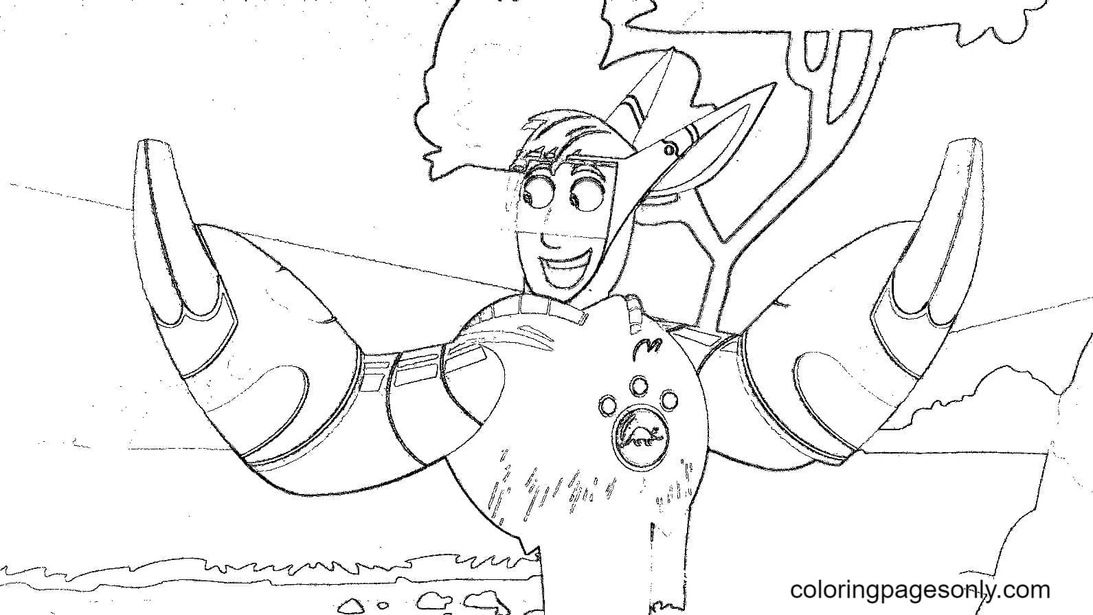 Martin Kratt From Wild Kratts Coloring Page