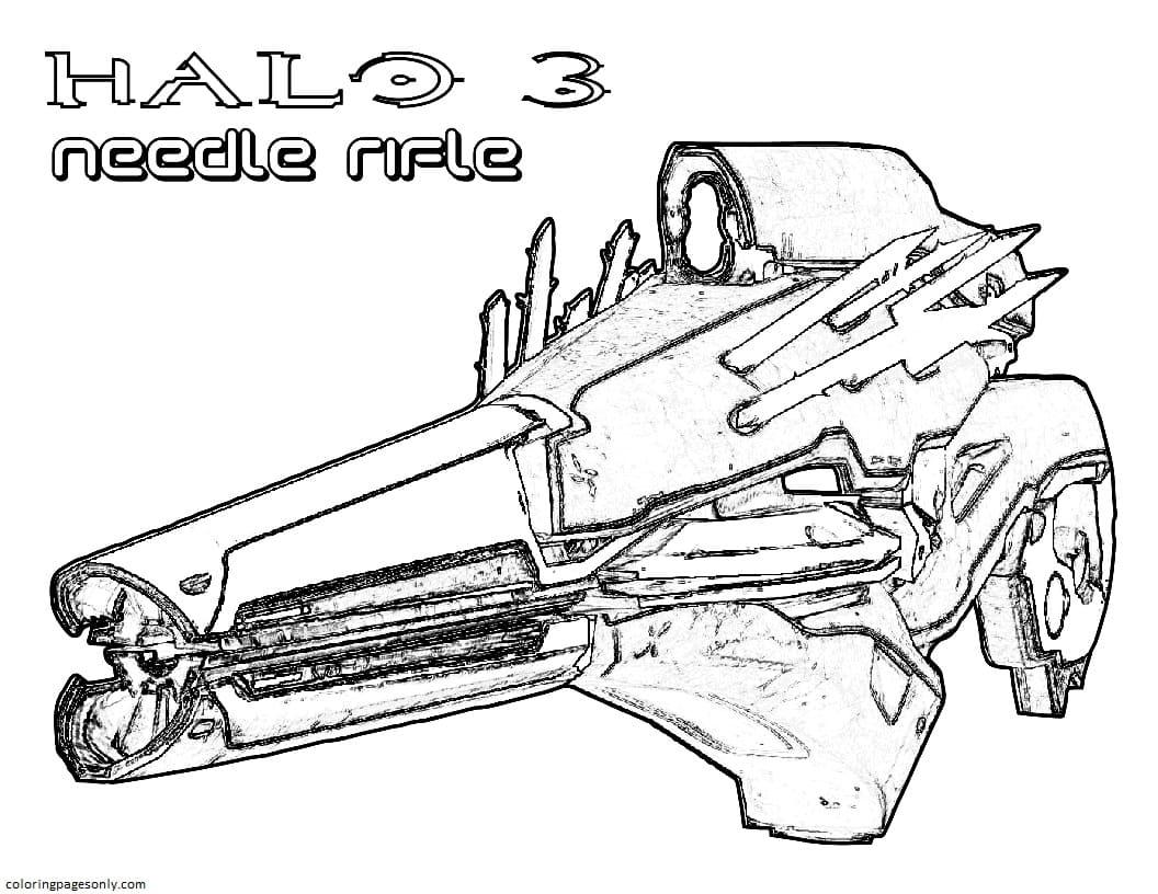 Nerf Gun 1 Coloring Page