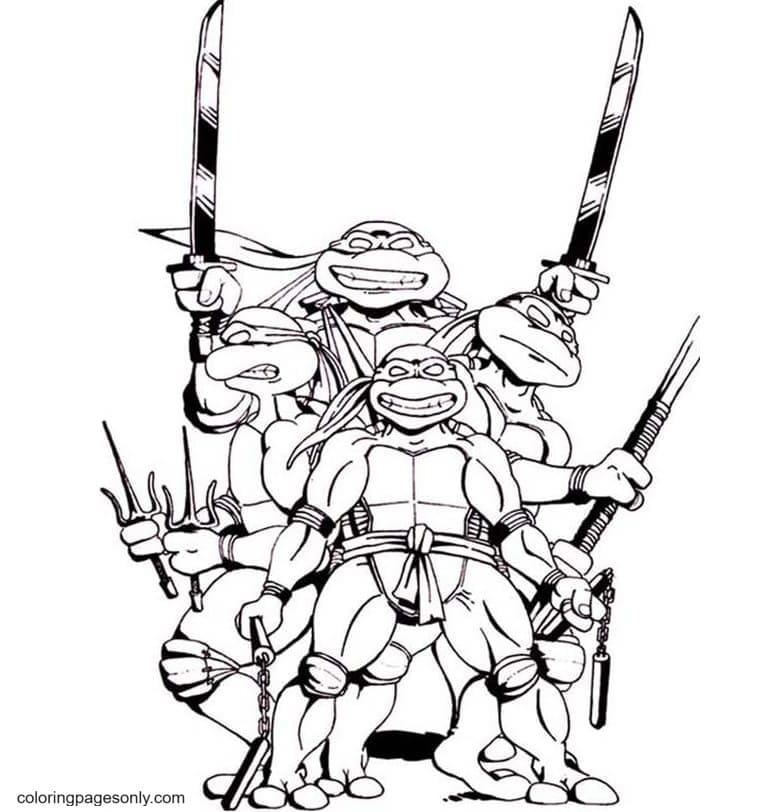 Ninjago Master0 Coloring Page
