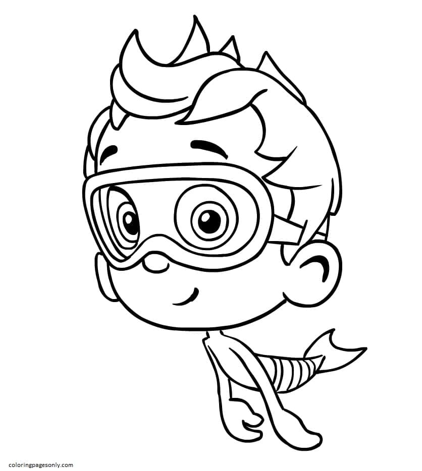 Nonny Is Floating Past Coloring Page