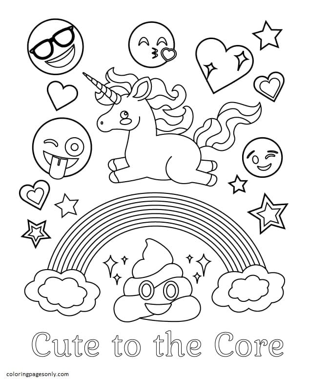 Of Funny Stuff 1 Coloring Page