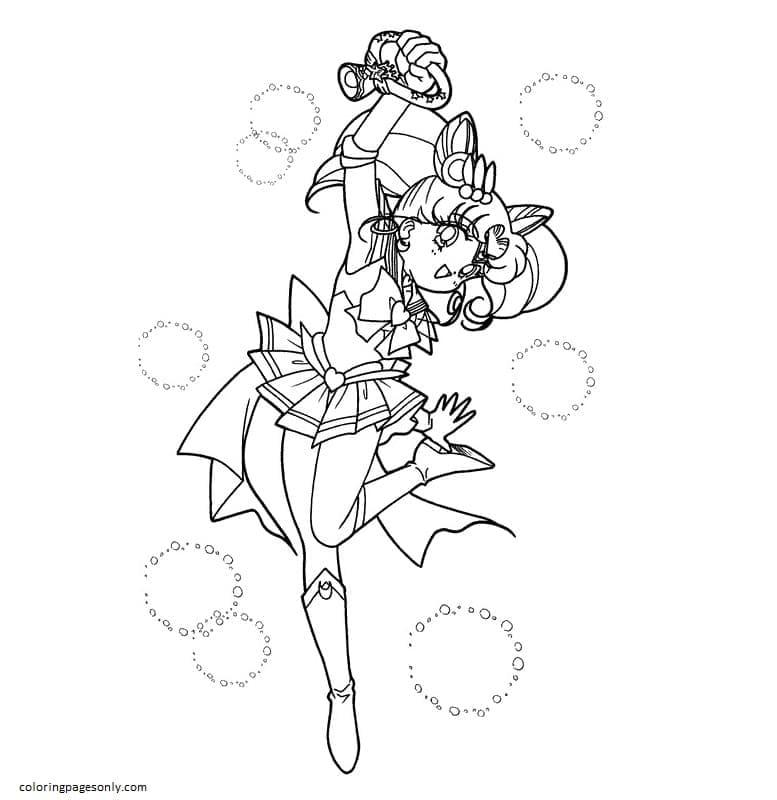 Printable Sailor Moon 7 Coloring Page