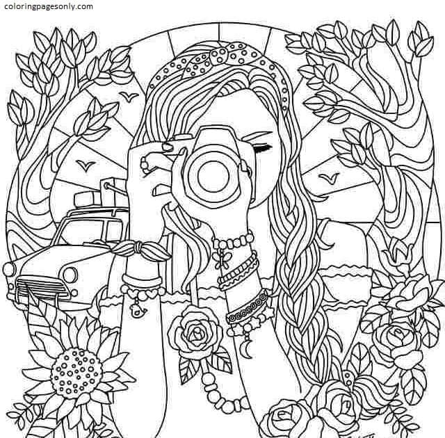 Printable Teenages 7 Coloring Page