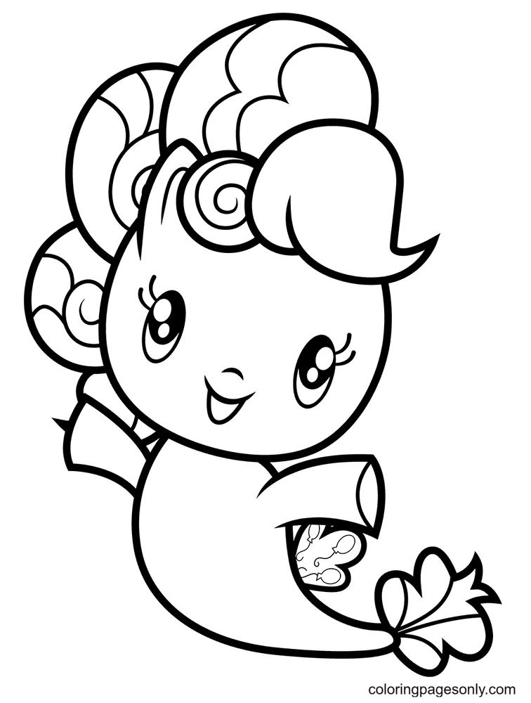 Sea Pony Pinkie Pie Coloring Page