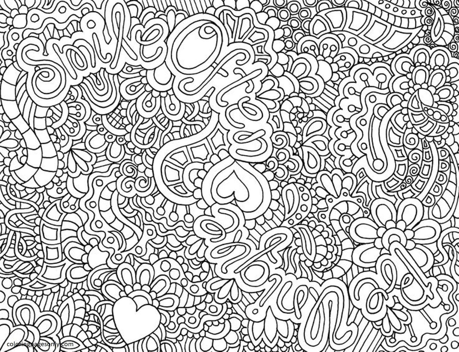 Teenages 1 Coloring Page