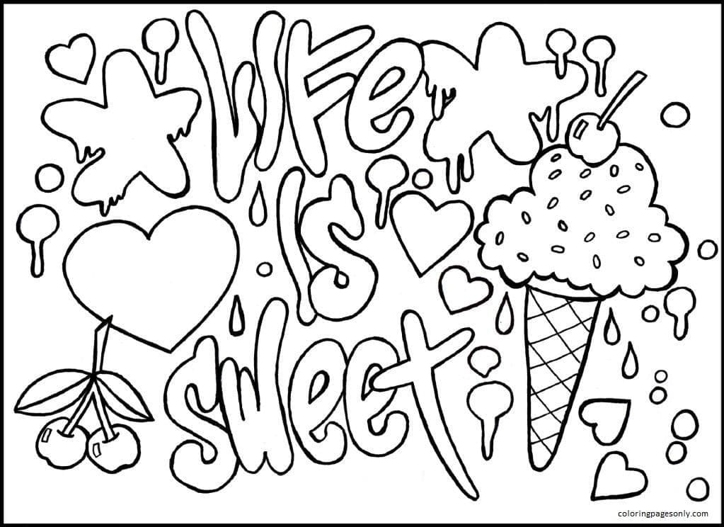 Teenages 3 Coloring Page