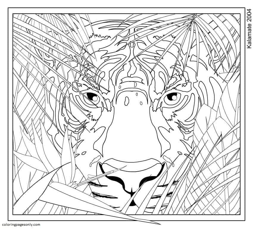 Tigger-Teenages Coloring Page