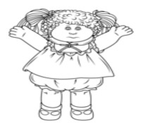 Toys and Dolls Coloring Page