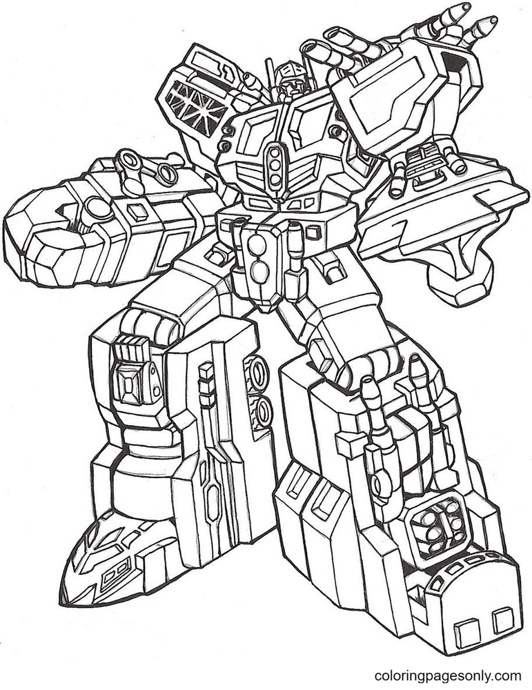 Transformers Omega Supreme Coloring Page