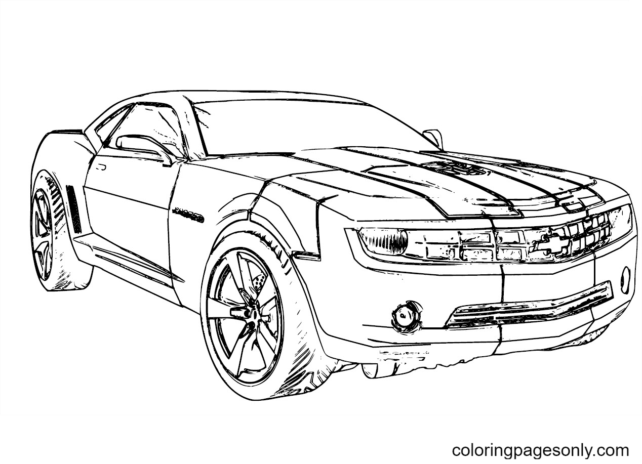 Transformers Robot Coloring Page