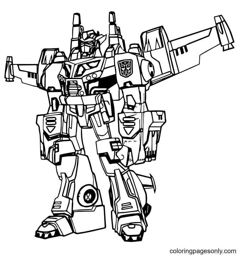 Transformers movie Coloring Page