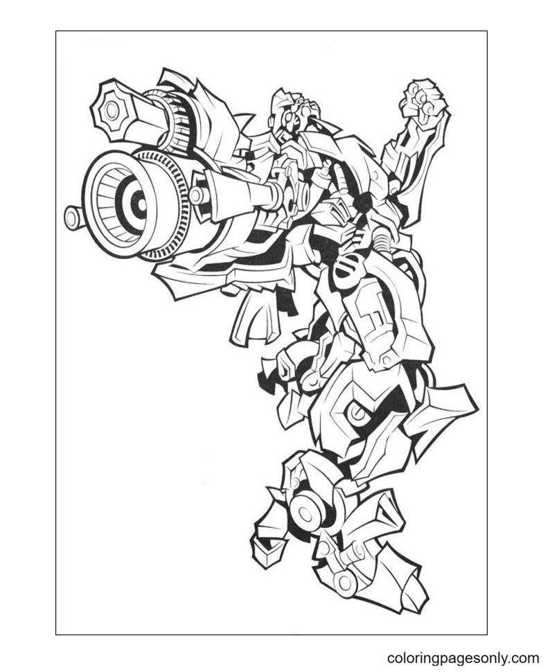 Transformers robots Printable Coloring Page