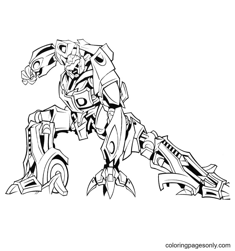 Transformers to print Coloring Page