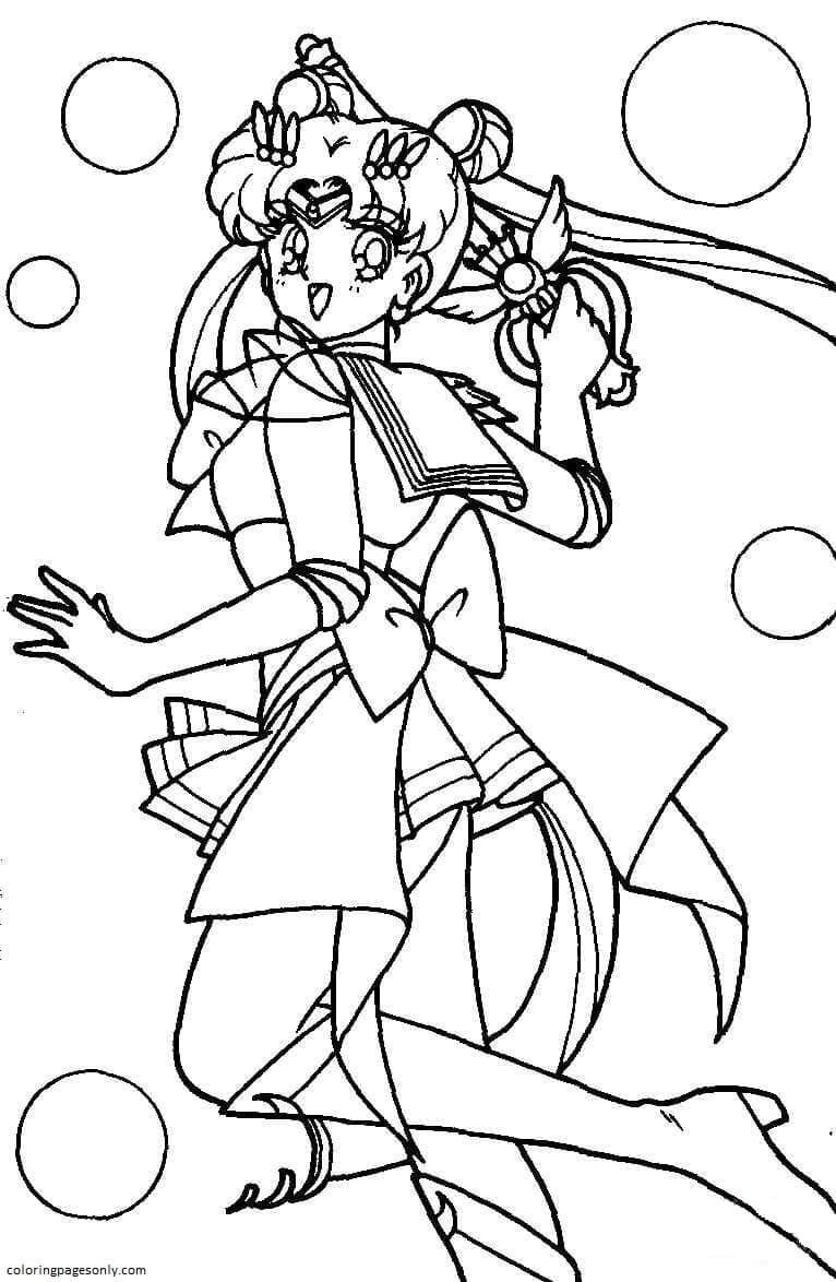 Usagi Tsukino Coloring Page