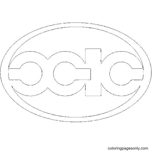 Xinkai Logo Coloring Page