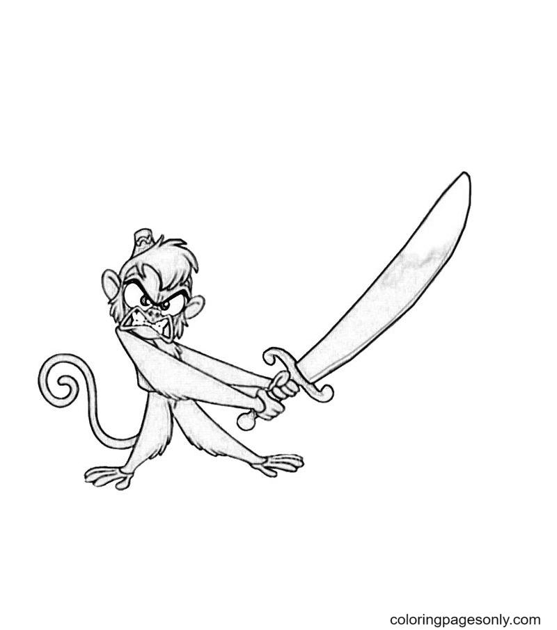 Abu Sword Coloring Page