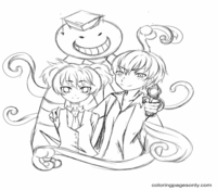 Assassination Classroom Coloring Page