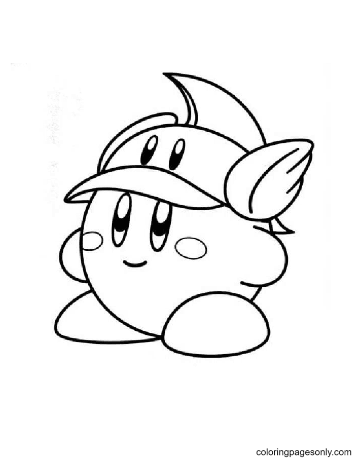 Cutter Kirby Coloring Page