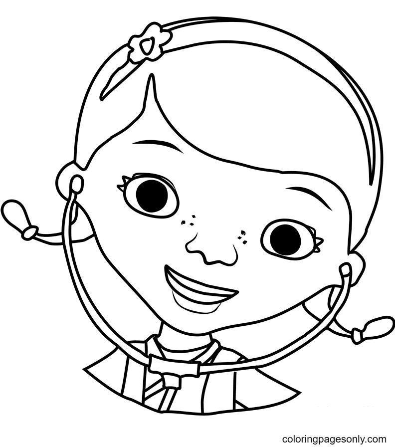 Dottie McStuffins Coloring Page