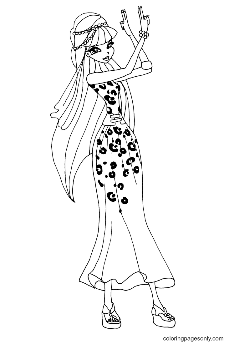 Egypt Musa Coloring Page