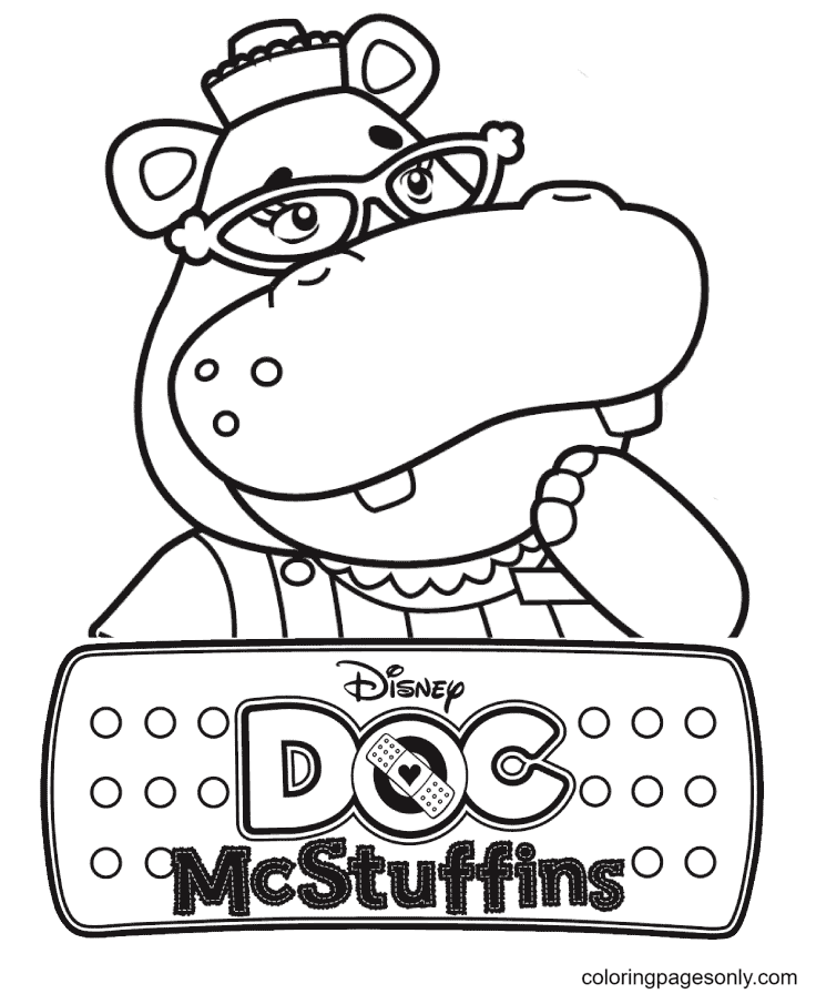 Hallie Coloring Page