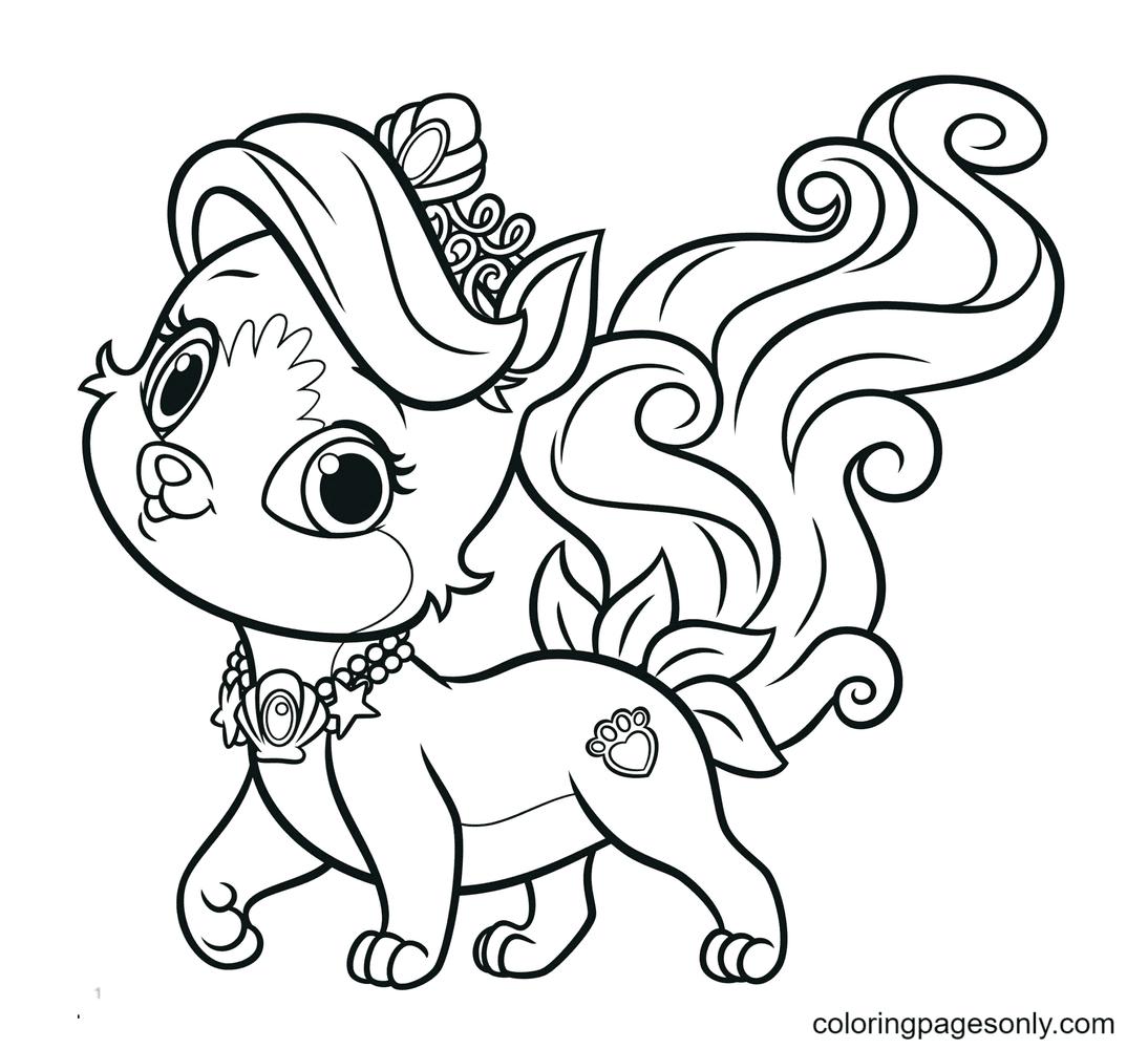 Littlest Pet Shop Puppy Coloring Page