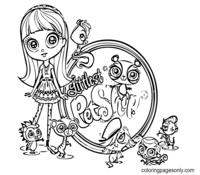 Littlest Pet Shop Coloring Page